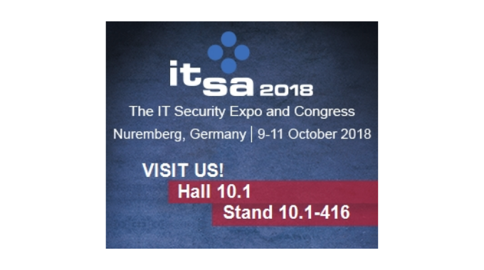 Identos will be exhibiting at it-sa – Europe's leading trade fair for IT security